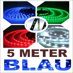 Led strip 5 meter blauw