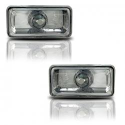 Chrome zijknipperlichten heder glas VW Golf 3 Vento bj: 9/91 - 8/95