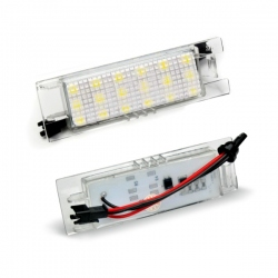 Led Kentekenverlichting Opel Corsa D