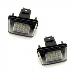 LED Kentekenverlichting Peugeot 206 207