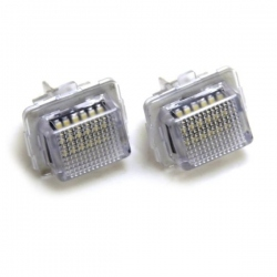 LED Kentekenverlichting Mercedes W221