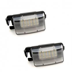 Led Kentekenverlichting Nissan Versa 5 Deuren C11X