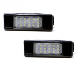 LED Kentekenverlichting Peugeot 1007 Combi limousine