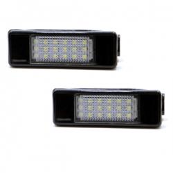 LED Kentekenverlichting Peugeot 207 CC Coupé-Cabriolet
