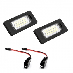 LED Kentekenverlichting Audi A4 S4 B8 Type 8K