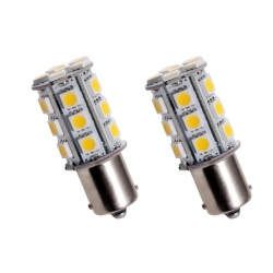 Led lamp PY21W  geel BAU15s 12V