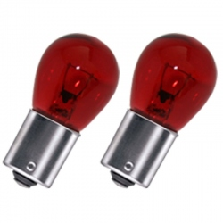 PY21W indicator lamp rood BA15S 12V 21W (tegenover pinnen
