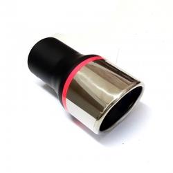 Uitlaatsierstuk Ovaal Passend 40-60mm