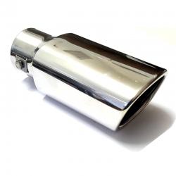 Uitlaatsierstuk RVS Rechthoek model passend 35-50mm