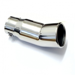 Uitlaatsierstuk RVS Rond passend 38-60mm