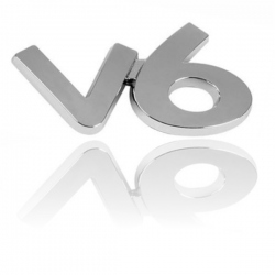 Chromen 3D auto logo-V6