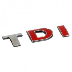 Chromen 3D auto logo-TDI