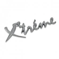 """Chromen 3D auto logo stickers """"XTREME"""""""