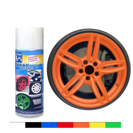 Spuitfolie Folie Spray Oranje 400ml Uncarparts