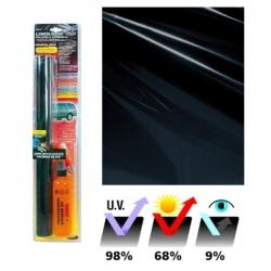 Ruitenfolie 300x50cm professioneel 9% lichtdoorlatend
