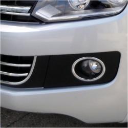 Chromen mistlampen frame voor VW Caddy