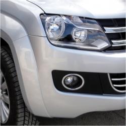 Chromen mistlampen frame voor VW Amarok