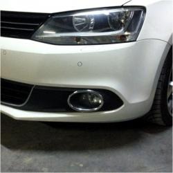 Chromen mistlampen frame voor VW Jetta