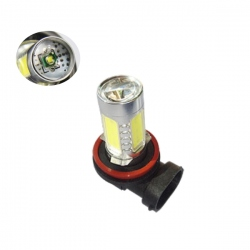 H11 High Power Cree Led-lamp 12V 11W Xenon wit