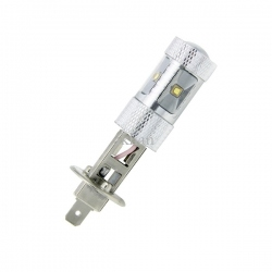 H1 High Power Cree Led-lamp 12V 30W Wit