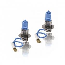 H3 Xenonlook halogeen lampen set H3 12V 100W