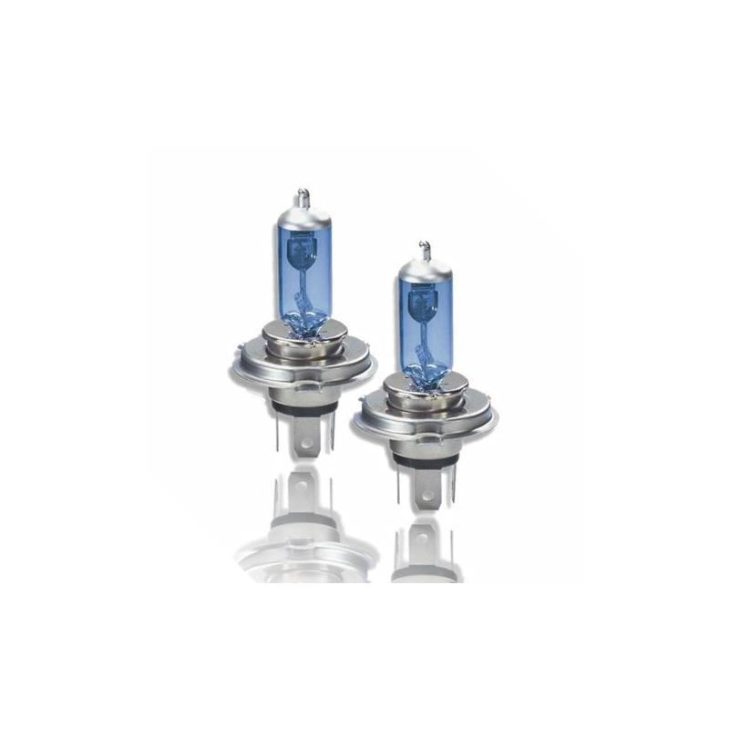 h4 xenon look halogen lampen set 12v 100w uncarparts. Black Bedroom Furniture Sets. Home Design Ideas