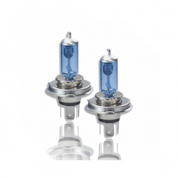 H4 Xenon Look Halogeen Lampen Set  12V 55W