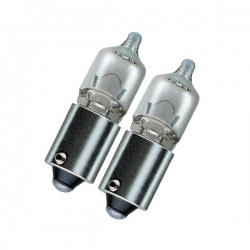 BAX9S H6W Xenonlook halogeen lampen 6 Watt 12V