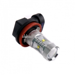 H8 High Power Cree Led lamp 12V 30W Xenon Wit
