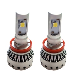 H11 High Power Cree Led-lamp 12V 30W Wit