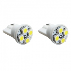 T10 Led stadslicht W5W 12V wit 4 Watt