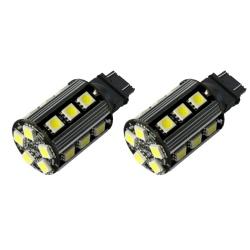 T20-Led lampen  Geel W21W, 3156, w3x16d, T20 7440 7440NA 7440A