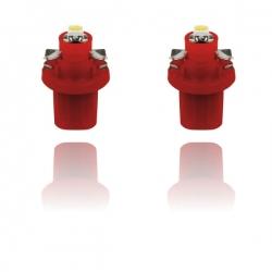T5- LED-verlichting Rood SMD B8.5D BAX10D 12V