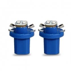 T5-LED-verlichting Blauw B8.5D BAX10D 12V