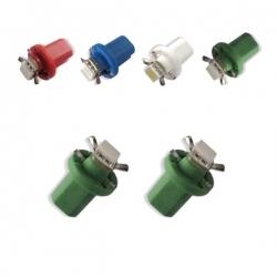 T5-LED-verlichting Groen B8.5D BAX10D 12V