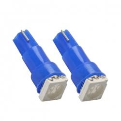 T5-Led Dashboard - toerenteller verlichting W2,3W T5 12V Blauw