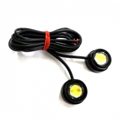 LED-dagrijlichten blauw Afmeting:  Diameter 22mm