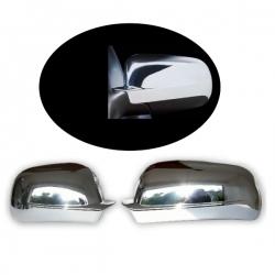 Chromen Spiegelkappen Audi A6/S6