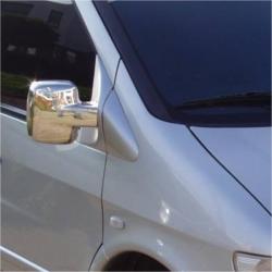 Chromen Spiegelkappen Mercedes VITO W638