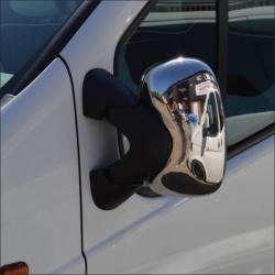 Chromen spiegelkappen Opel Vivaro 2