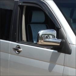 Chromen Spiegelkappen voor VW T5 TRANSPORTER