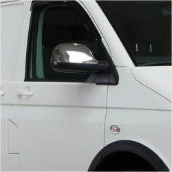 Chromen Spiegelkappen voor VW T5 CARAVELLE
