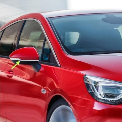 Chromen strip spiegelkappen Opel Astra K