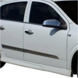 RVS chromen Deurlijst  Opel ASTRA H HB 2004+