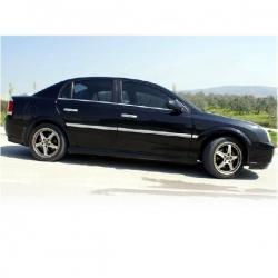 RVS chromen Raamlijst Opel VECTRA C