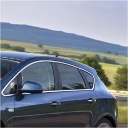 RVS chromen Raamlijst Opel ASTRA J Hatchback