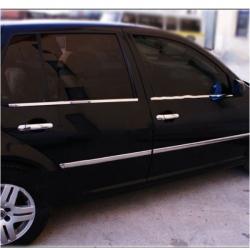 RVS chromen Deurlijsten  VW Golf 4
