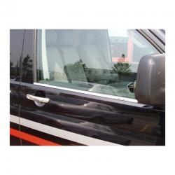 RVS chromen Raamlijst  VW Transporter  Caravelle