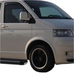 RVS chromen Raamlijst  VW T5 MULTIVAN