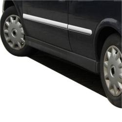 RVS chromen Deurlijst  Opel Astra G